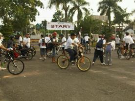 Hari Lingkungan Hidup Sedunia: Sepeda Santai